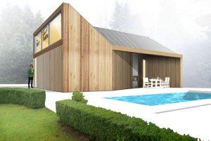 Duurzaam Energieneutraal Poolhouse Atelier