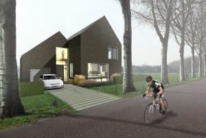 woningbouw, architectuur, villa, zelfbouw, vrije kavel