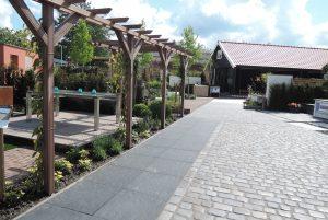 garden, tuin, bestrating, pavement