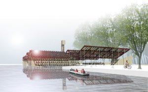 architectuur, stedenbouw, landschap, recreatie, Groningen, Hoendiep, suikerfabriek, Breda