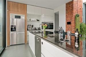 verbouwing, aanbouw, keuken